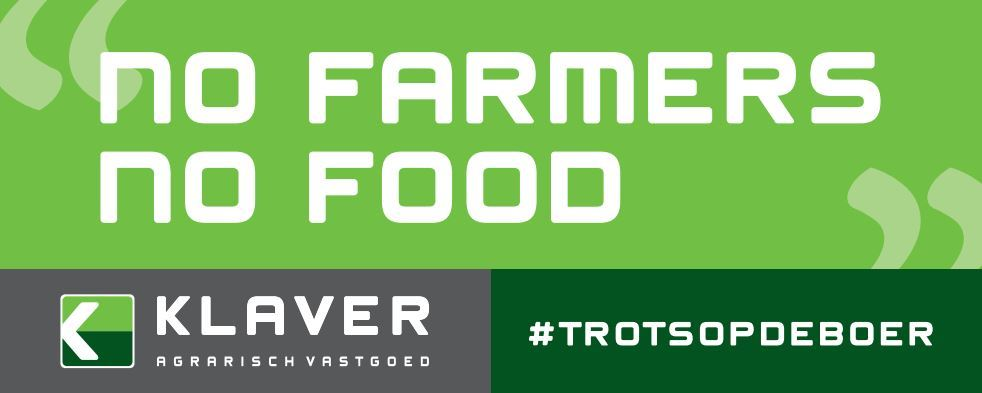 Trots op de boer - No farmers No food